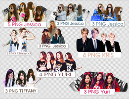 [SHARE] PACK RENDER EXO + SNSD [1] by Loo-Luyi