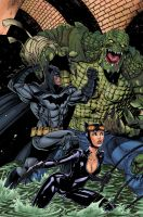 BAT CAT CROC in color by ColtNoble