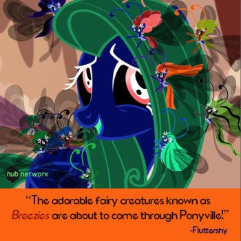 The Breezies are coming to Ponyville by Bluemansonic