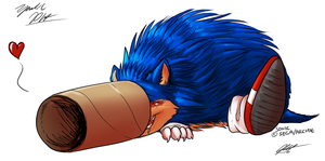 30 Min Challenge - Boogie Hedgehog by PYC-Art