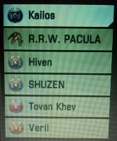 crew list of the R.R.W. Pacula by digikevin10