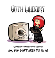 Goth Laundry by LaCice