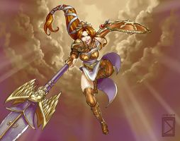 Athena Colored by DavidValdez