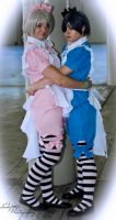 Ciel and Alois in Wonderland by Indefinitefotography