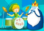 Link and Ice King by Kirby167