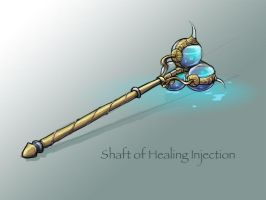 Custom Magical Healing Implement by Shrinecat