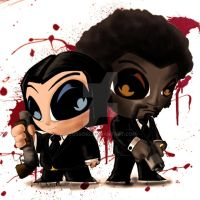Vincent Vega and Jules Winnfield by Cusso82