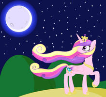 Princess Cadance by RandomThingsILike