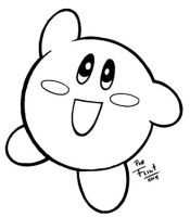 Kirby by FlintofMother3