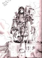 Mech Girl 02 by Sepia-Heart