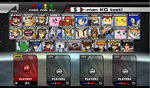 Super Smash Flash 2 Character Select Screen by MarratoKensuto