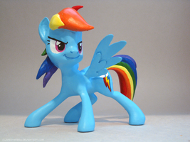 Rainbow Dash 3D Print [Everfree] by Clawed-Nyasu