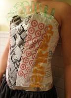 Upcycled Corset 5 by kbthreads