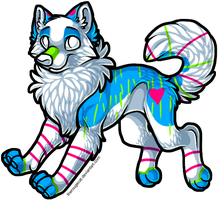 Beautiful Adopt by intoxicated-with-paw