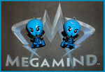 Chibi-Charms: Megamind by MandyPandaa
