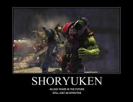 Space Marine Shoryuken by DilaZirK