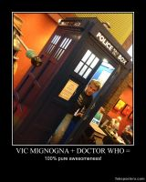 Vic Mignogna + Doctor Who =  .... by Mickxbeth2012