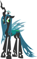 Chrysalis, Queen of the Changelings by Psyxofthoros