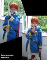Eliwood Cosplay 2 by InnocentiaSanguinis
