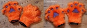 Paws for Nynx by TheKareliaFursuits