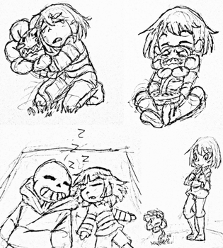 Sketch Time: Undertale by SeBriar