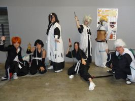 Bleach group cosplay by Mikux3Cosplay