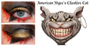 American Mgee's Cheshire Cat Look by nazzara