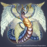 Light Dragon -Advanced Level- by Nekomancerz