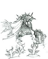 Shaman on the Hill by Kaon-Lowe
