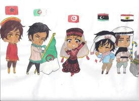 North Africa by MiddleEastAPH