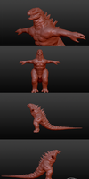 G14 High Poly Conversion (teaser shots) by The-KaijuEnthusiast