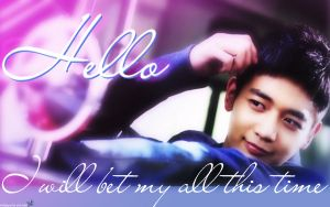 SHINee-Minho Hello wallies by yidmilan
