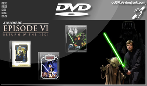 DVD - 1983 - Star Wars Episode 6 Return Of The Jed by od3f1