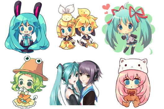 Vocaloid Icons Pack 2 by EndFate