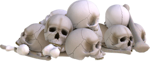 Skull Pile 1 by kungfufrogmma