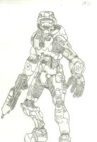 Halo: Master Chief by SevBD