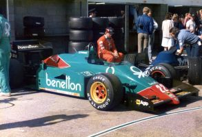 Alfa Romeo 185T (Great Britain 1985) by F1-history