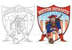 Pat Patriot Process by piratesofbrooklyn