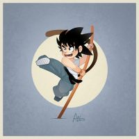 Young Goku by XnBlooh