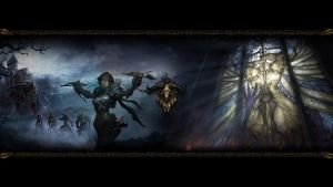 Diablo III Wallpaper -Demon Hunter- by SyntaxError255