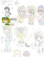 South Park Sketches by ocean0413