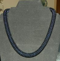 All Black Rope Necklace by ydoc16