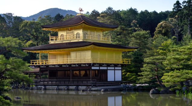 Kinkaku-ji Panorama by MarcAndrePhoto