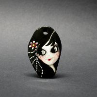 Doll pendant - Gloria by 1anina
