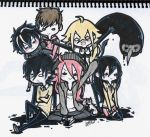 all my OCs and I by luxray-meoth