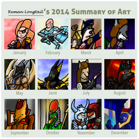 2014 Art Summary by remanlongtail