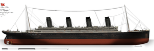 HMT Olympic: Profile (1915) by alotef