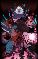 Evolution of a demon by theCHAMBA
