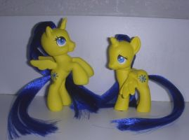 MLP Custom G4  and McD G3.5 Midnight Sun by colorscapesart