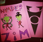 Invader Zim 2 by naruto-warriors-oc